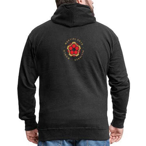 WMAA-logo_xl - Männer Premium Kapuzenjacke