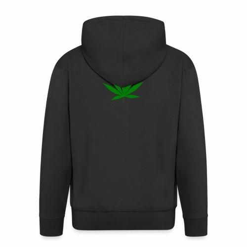 Feuille de weed - Veste à capuche Premium Homme