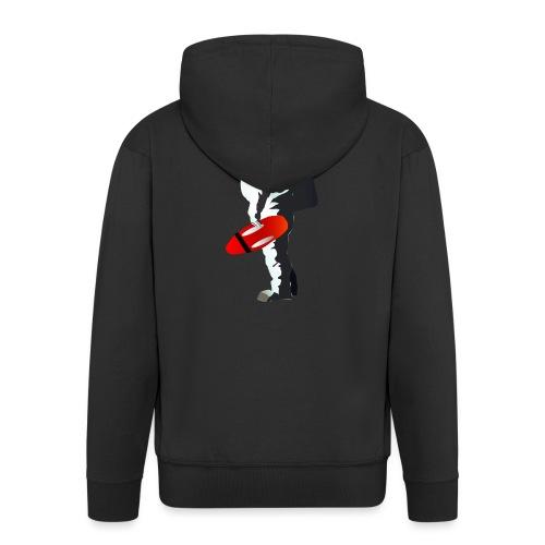 Space Lifeguard - Men's Premium Hooded Jacket