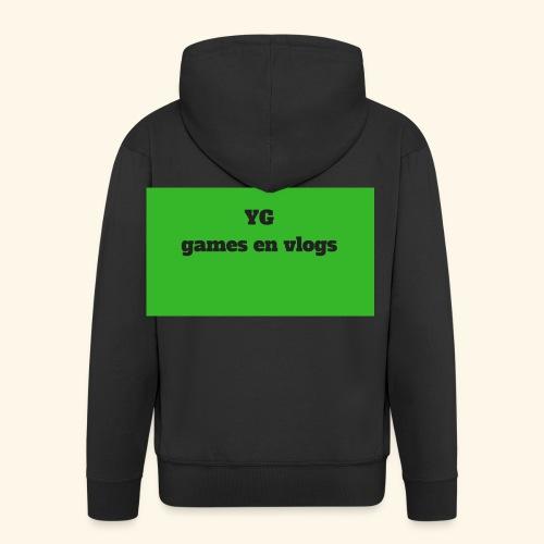 YGgames en vlogs - Mannenjack Premium met capuchon