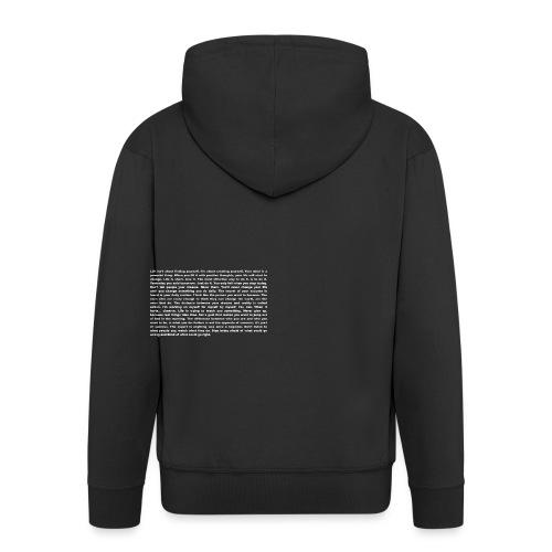 Motivation und Inspiration - T-Shirt - Männer Premium Kapuzenjacke
