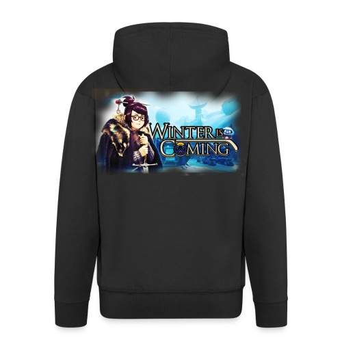Overwatch and GameOfThrones Fusion - Men's Premium Hooded Jacket