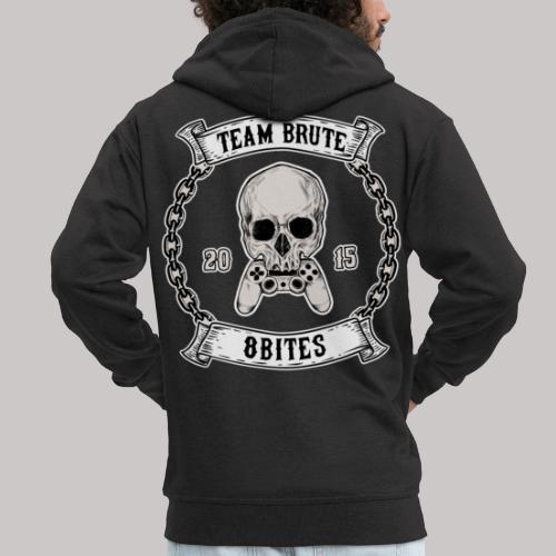 8 Bites MC - Men's Premium Hooded Jacket