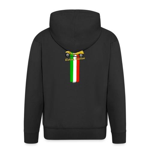 Italian Custom V0l.2.png - Männer Premium Kapuzenjacke