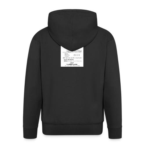 Beautiful Black Woman - Men's Premium Hooded Jacket