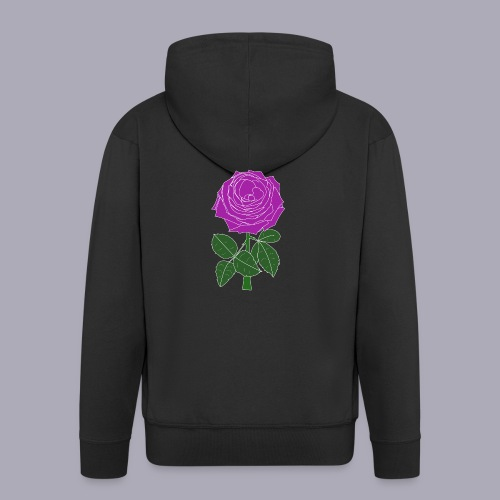 Landryn Design - Pink rose - Men's Premium Hooded Jacket