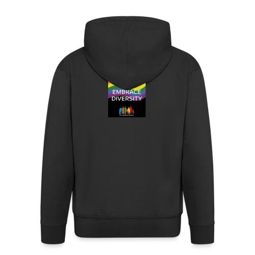 T-shirt, tonåring, embrace diversity - Premium-Luvjacka herr