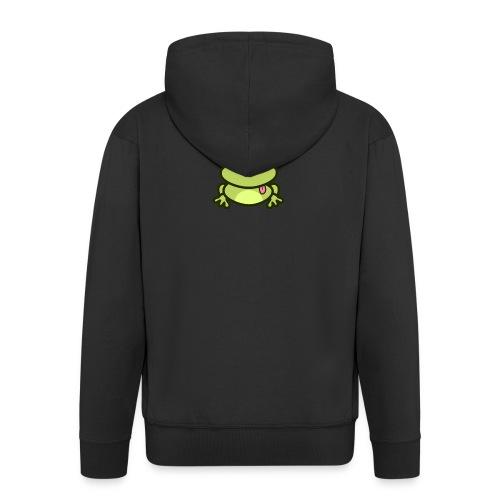 Frog Tshirt - Men's Premium Hooded Jacket