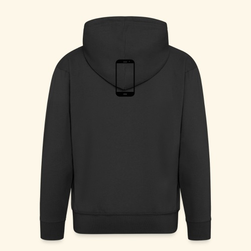 Phone clipart - Men's Premium Hooded Jacket