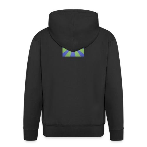 Baxey main logo - Men's Premium Hooded Jacket