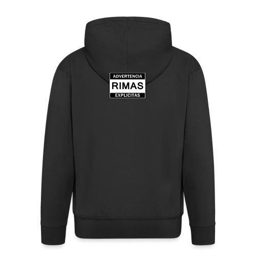 advertencia Rimas Explicitas - Chaqueta con capucha premium hombre