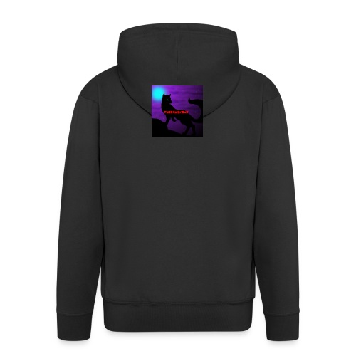 Th3G4m3rWolf - Men's Premium Hooded Jacket