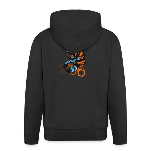 logo wasp - Veste à capuche Premium Homme