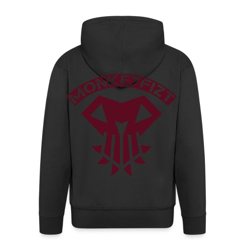 MonkeyFizt Logo - Männer Premium Kapuzenjacke