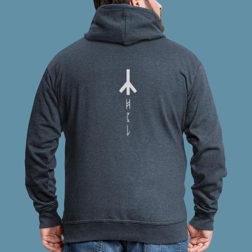 Logo Hel 02 copia png - Felpa con zip Premium da uomo