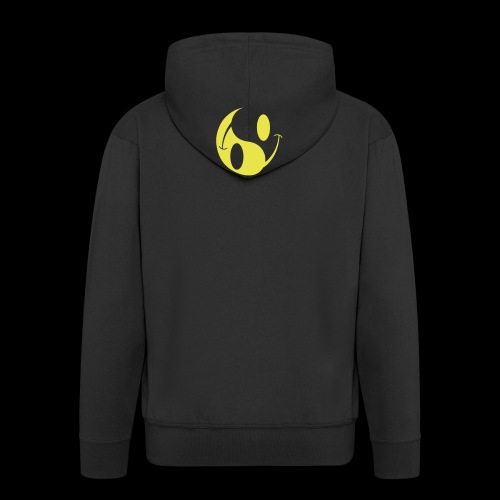 acid yin yang - Men's Premium Hooded Jacket