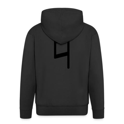holy brand shirt, black - Männer Premium Kapuzenjacke