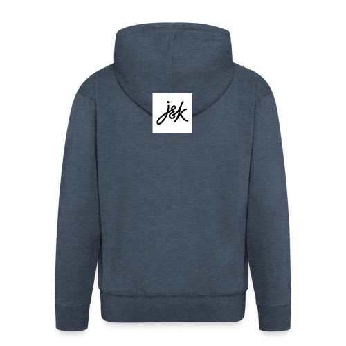 J K - Men's Premium Hooded Jacket