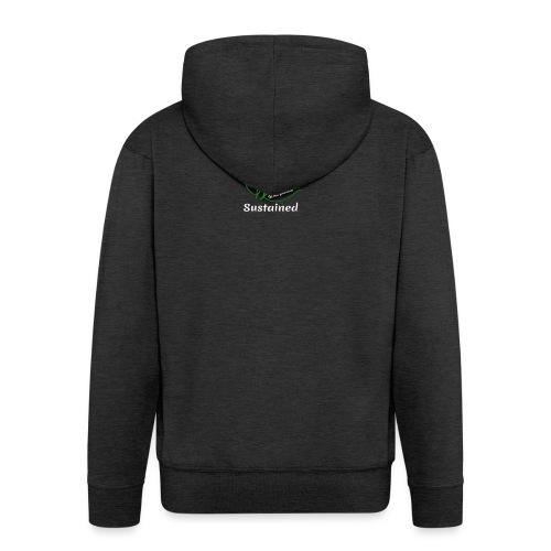 Sustained Sweatshirt Navy - Herre premium hættejakke