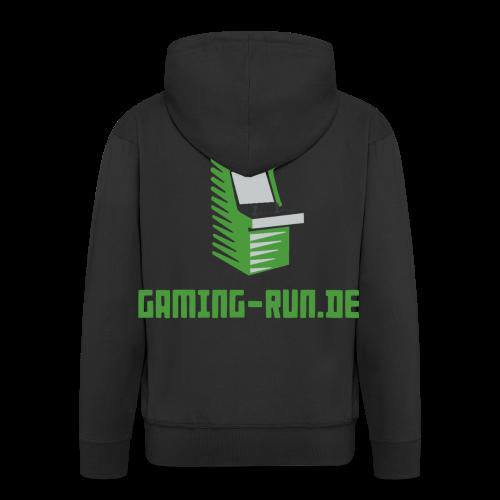 Gaming-Run.de - Männer Premium Kapuzenjacke