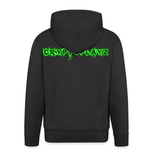 *GREEN DROP* - Men's Premium Hooded Jacket