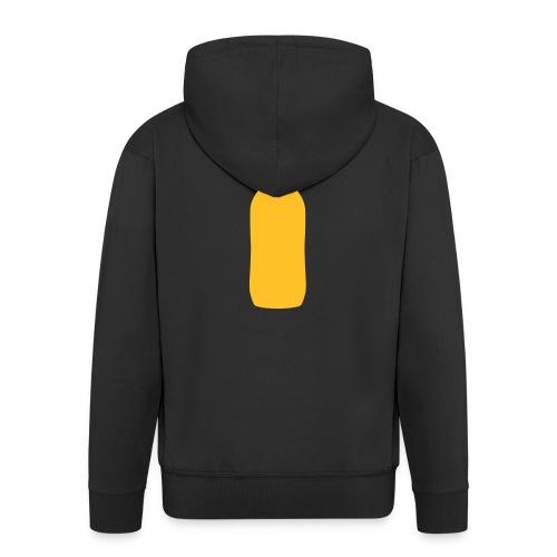 Bierflasche - Männer Premium Kapuzenjacke