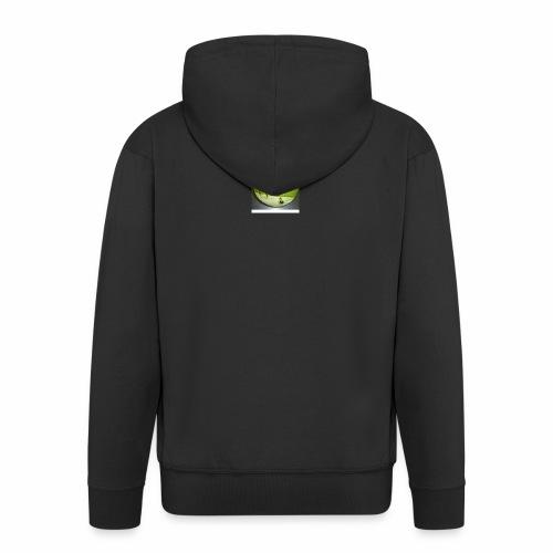 melon view - Men's Premium Hooded Jacket