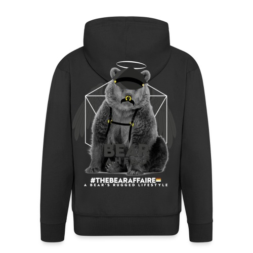 TBA Shirts Male BEARLINE Daddy Bear - Männer Premium Kapuzenjacke