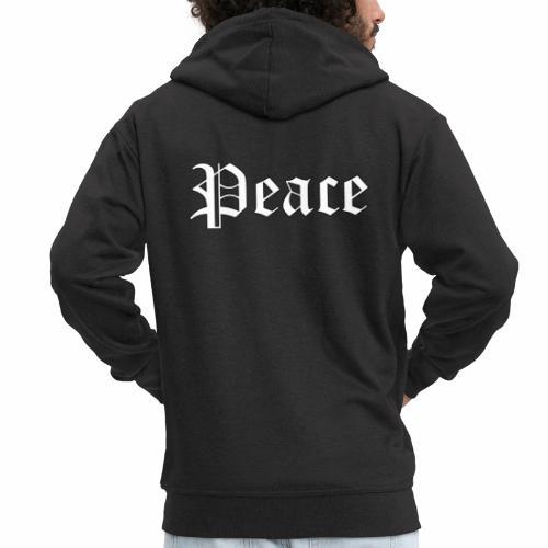 Peace - Männer Premium Kapuzenjacke