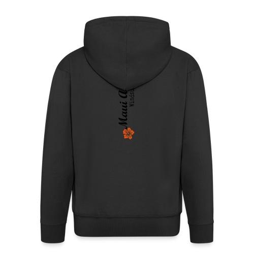 MAddLogoVert ai - Men's Premium Hooded Jacket