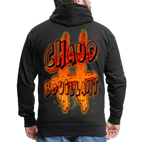 H-Tag Chaud Bouillant - Veste à capuche Premium Homme