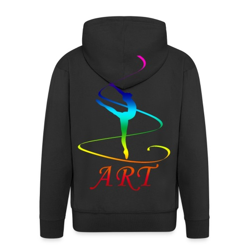 Atelier Rainbow Tanzkunst - Männer Premium Kapuzenjacke