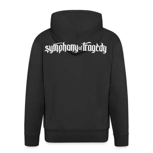 Symphony of Tragedy Logo - Men's Premium Hooded Jacket
