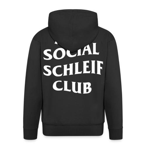 ANTI SOCIAL SCHLEIF CLUB - Männer Premium Kapuzenjacke
