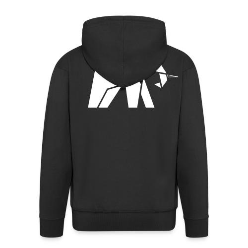 Schönes Elefanten Design für Elefanten Fans - Männer Premium Kapuzenjacke