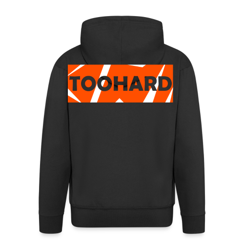 Sweatshirt - TooHard Logo 2 - Men's Premium Hooded Jacket