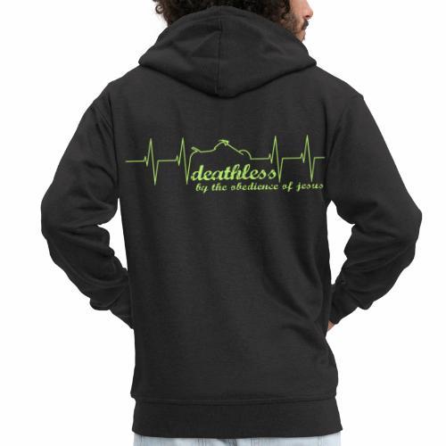 Deathless Herzschlag - Männer Premium Kapuzenjacke