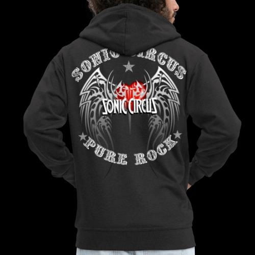 SONIC CIRCUS Pure Rock - Männer Premium Kapuzenjacke