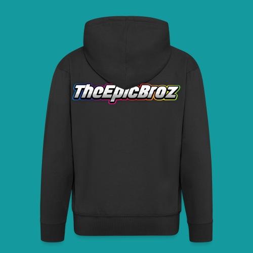 TheEpicBroz - Mannenjack Premium met capuchon