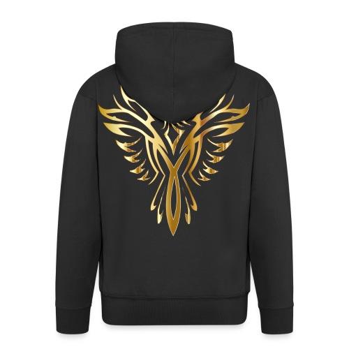 phoenix gold ultimate - Men's Premium Hooded Jacket