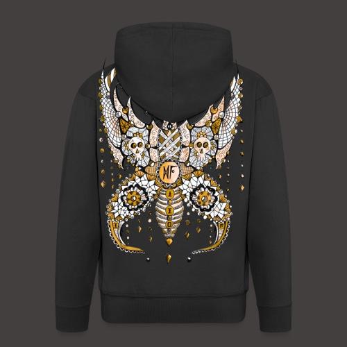 Papillon Lilou Dore - Veste à capuche Premium Homme