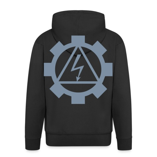 EF-logo Int - Men's Premium Hooded Jacket