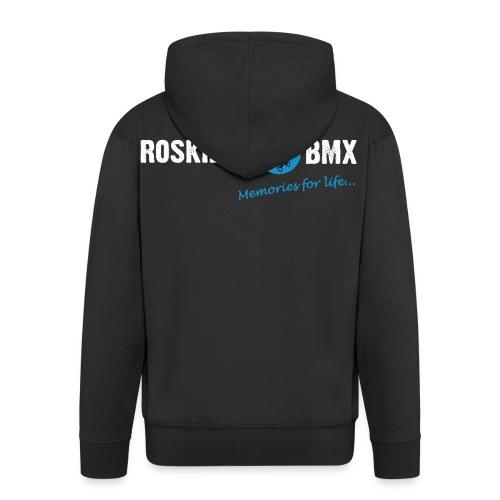 RoskildeBMX Back Large light png - Herre premium hættejakke