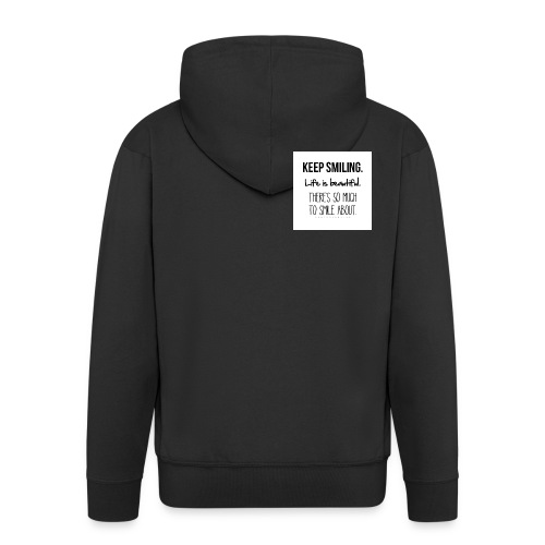 smileing - Men's Premium Hooded Jacket