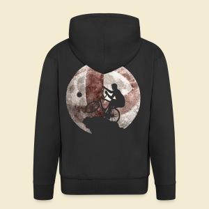 Radball | Moon - Männer Premium Kapuzenjacke