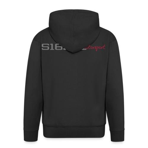 s16 logo - Männer Premium Kapuzenjacke