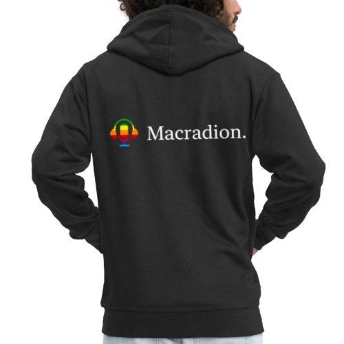 Macradion Vit - Premium-Luvjacka herr
