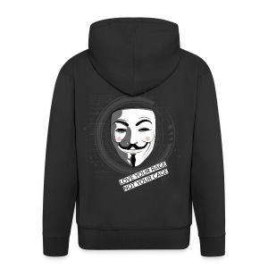 Anonymous Love Your Rage - Men's Premium Hooded Jacket