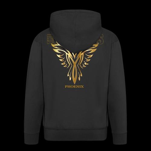 Phoenix - Men's Premium Hooded Jacket