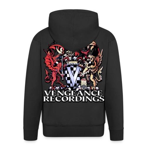 vengeance logo 2013 - Men's Premium Hooded Jacket
